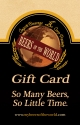 Gift Card - So Many Beers, So Little Time